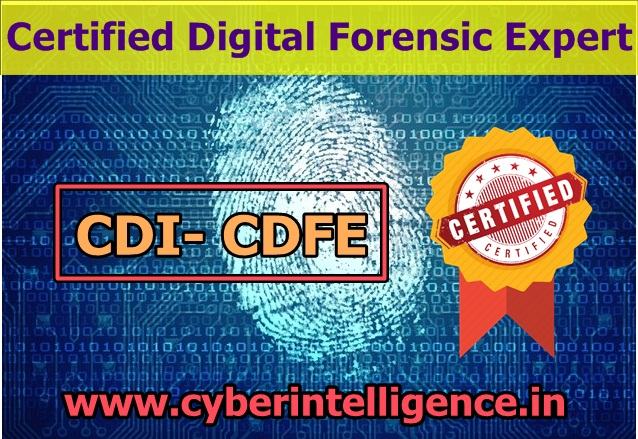 online training in cdi- cdfe (certified digital forensic expert)