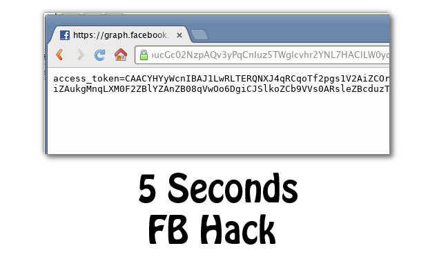 Hack Facebook account in just 5 seconds, a vulnerability found in the ...