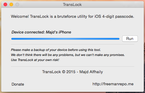 how to crack an iphone password translock brute tool ios security for free 18692